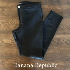 NEW Banana Republic Black Ankle/Legging Slack Pant